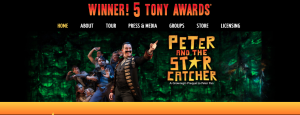 Peter and the Starcatcher Touring Co