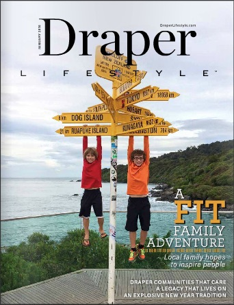 Draper Lifestyle Magazine COVER