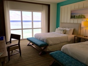 Boys room with ocean view