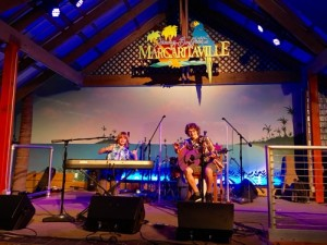 BroBand performing on stage at Margaritaville Restaurant Hollywood Beach Resort!